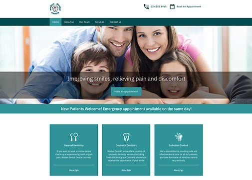 woden-dental-web-dev-sydney